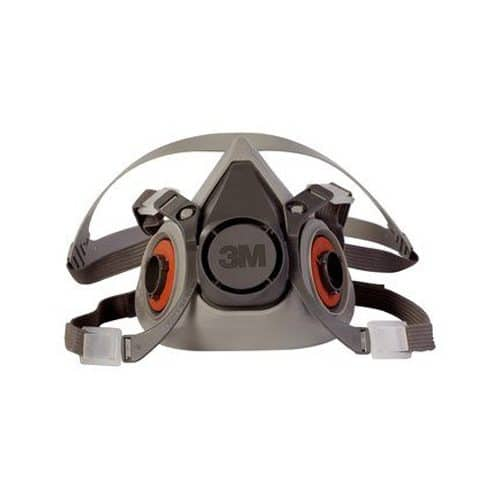 3m half facepiece reusable respirator 6200 medium
