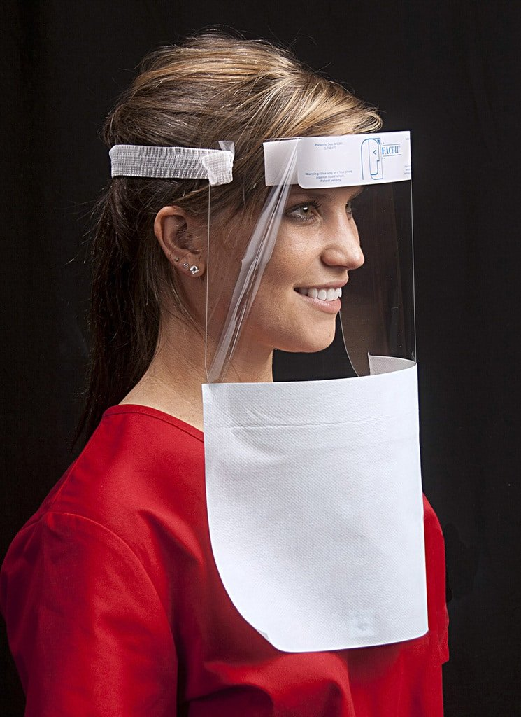 Face Shields with Drapes