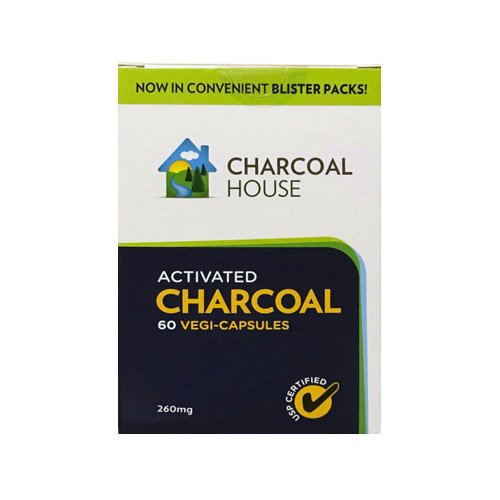 activated charcoal blister pack 60 count