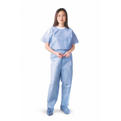 Disposable Unisex Scrub Pants with Elastic Waist,