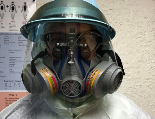What respirator cartridges offer dentists protection from mercury?