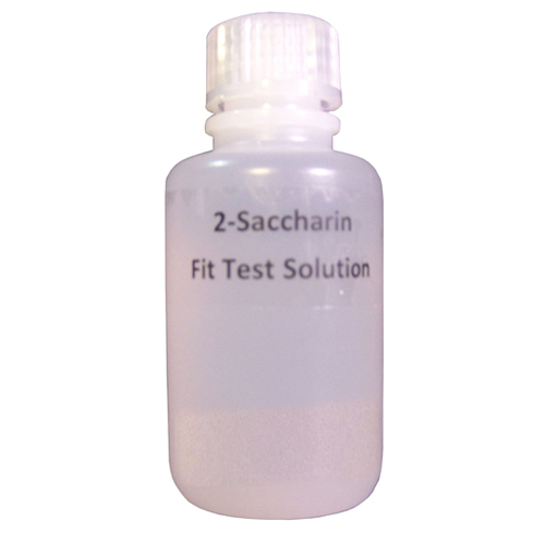 Bottle of Saccharin fit testing solution