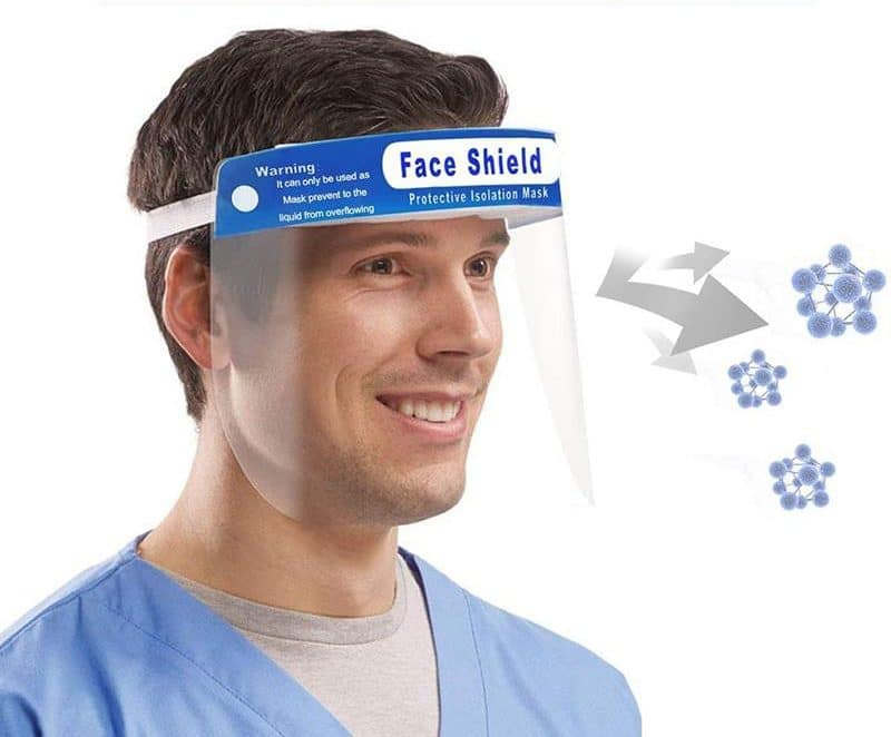 Disposable Anit-Fog Face Shields